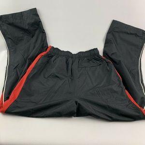 MENS CCM Red Black Mesh Lined Wind Line up Pants Boutique